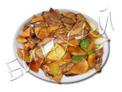 Говядина тушеная с картофелем