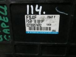 Блок управления двс. Mazda Capella, GWEW, GFEP, GWFW, GFFP, GF8P, GW8W, GW5R, GWER, GFER Двигатель FSZE