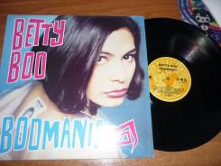Бетти Бу / Betty Boo - Boomania - 1990 USA LP Дискотека 90х