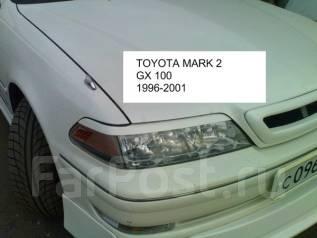 Накладка на фару. Toyota Mark II, JZX100