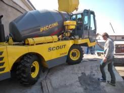 Piccini Scout 3500. Автобетоносмеситель с самозагрузкой Italy, 4 400куб. см., 5,20куб. м. Под заказ