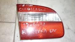 Фонарь багажника. Toyota Corolla