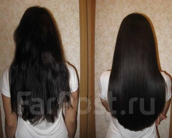 До поясницы волосы