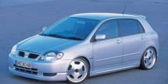 Обвес кузова аэродинамический. Toyota Corolla Runx. Под заказ