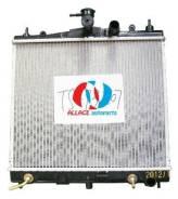 Радиатор охлаждения двигателя. Nissan Micra C+C, FHZK12, CK12E Nissan Note, E11E Nissan Micra, K12E Двигатели: HR16DE, CG12DE, CR12DE, CGA3DE, CR14DE