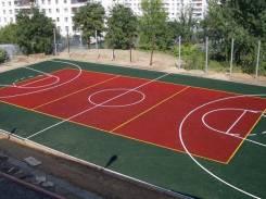 Покрытия для открытых спортивных площадок из Резиновой крошки