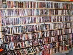 Прекрасная коллекция DVD-фильмов