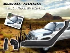 Шноркель. Toyota Hilux Surf, KZN185 Двигатель 1KZTE