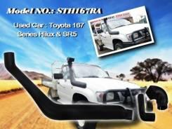 Шноркель. Toyota Hilux Surf, RZN210, RZN185, VZN210, VZN185, RZN180, RZN215, VZN180, VZN215 Двигатели: 5VZFE, 3VZE, 3RZFE