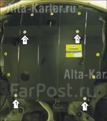 Защита двигателя. Hyundai Elantra, XD