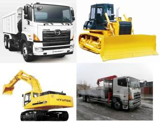 Услуги спецтехники, доставка негабаритной техники и грузов ЖД и авто
