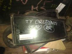 Стекло боковое. Toyota Caldina, ST190G