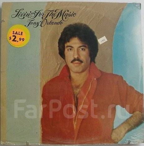 "Винил Tony Orlando (Dawn) ""Livin' for the music"" 1980 Singapore"