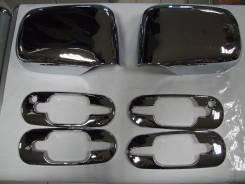 Хромированные накладки на зеркала ручки дверей. Honda CR-V. RD1. Honda CR-V, RD1