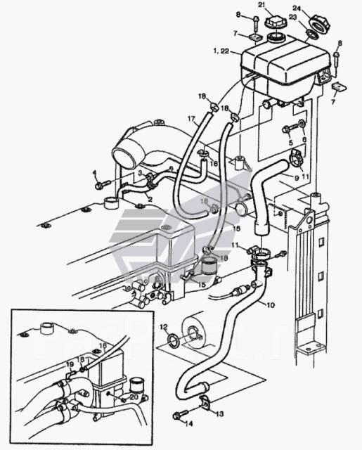 двигатель вольво fh12 система охлаждения