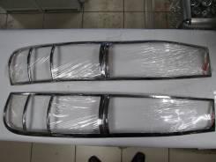 Хромированные накладки на стоп сигнал. Toyota Liteace Hoah 2000г. Toyota Lite Ace