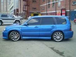Порог пластиковый. Subaru Forester, SG. Под заказ