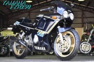 Yamaha FZR 250. 250 куб. см., исправен, без птс, без пробега