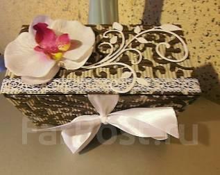 Коробочка - упаковка для подарка - ручная работа-vlcard