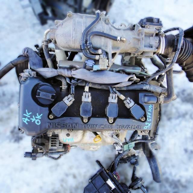 Контрактный б/у двигатель QG13-DE на Nissan