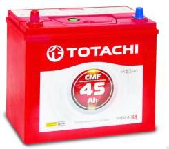 Totachi. 45 А.ч., правое крепление, производство Корея
