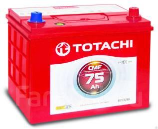 Totachi. 75 А.ч., левое крепление, производство Корея