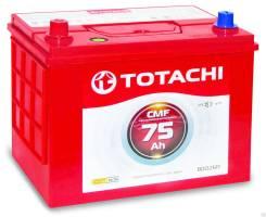 Totachi. 75 А.ч., правое крепление, производство Корея