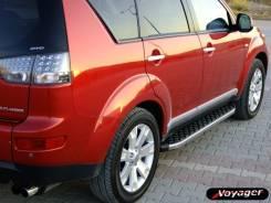 Пороги (подножки) Peugeot 4007 2007-2013