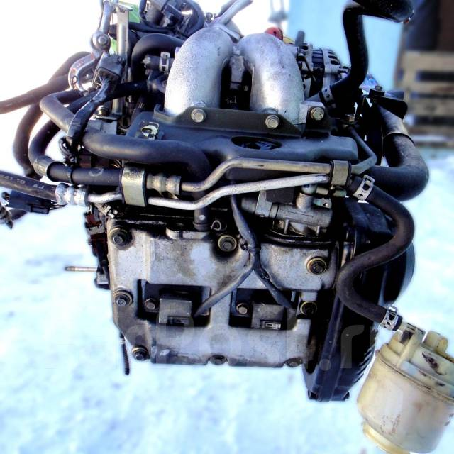 Контрактный б/у двигатель EJ254 на Subaru