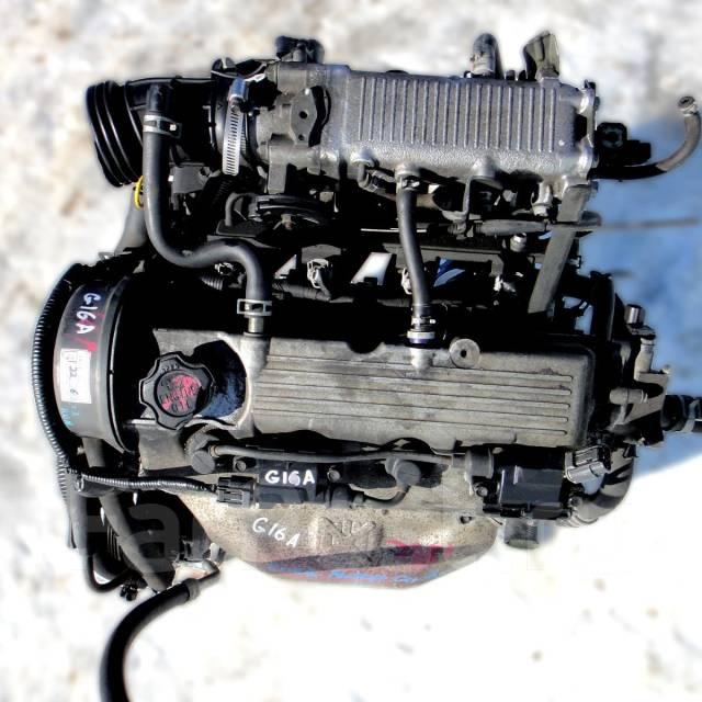 Контрактный б/у двигатель G16A на Suzuki