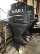 Yamaha. 90,00л.с., 4х тактный, бензин, нога L (508 мм), Год: 2009 год