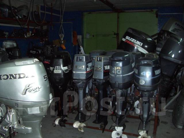 контрактные лодочные моторы из японии в новосибирске