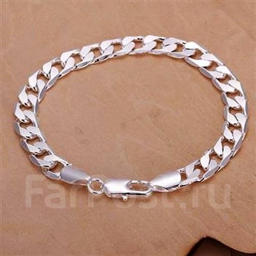 Мужские браслеты на руку серебро москва