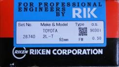 Кольца поршневые. Toyota: Crown, Cresta, Blizzard, Dyna, Land Cruiser, Mark II, Hiace, Comfort, Chaser, 4Runner, Cressida, Hilux, Crown Majesta, ToyoA...