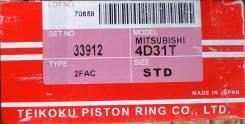 Кольца поршневые. Mitsubishi Canter Mitsubishi TP Двигатель 4D31T