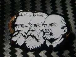 """Знак"""" Вожди"""" Маркс- Энгельс- Ленин!"""