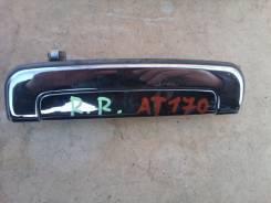 Ручка двери внешняя. Toyota Carina, AT170 Двигатель 5AF