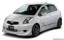 Обвес кузова аэродинамический. Toyota Vitz, KSP90, NCP91, NCP95, SCP90 Двигатели: 1KRFE, 1NZFE, 2NZFE, 2SZFE. Под заказ