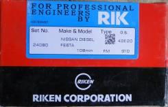 Кольца поршневые. Nissan Diesel Двигатель FE6TA
