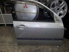 Дверь Mitsubishi Airtrek/Outlander контрактная оригинал CU4W серебро