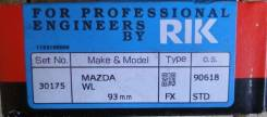 Кольца поршневые. Mazda: Bongo Friendee, Proceed, Titan, MPV, Bongo Brawny, J100 Двигатель WL