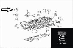 Втулка направляющая клапана. Mercedes-Benz: E-Class, S-Class, G-Class, CLK-Class, C-Class, SL-Class