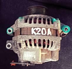 Генератор. Honda Stream, RN4, RN3 Honda CR-V, RD4, RD5, RD6 Honda Stepwgn, RF3, RF4, RF5 Двигатель K20A