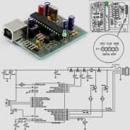 Радиоконструктор RC221. GTP-USB-Lite программатор РIС-контроллеров