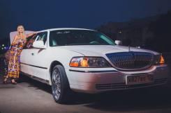 Прокат, аренда лимузина Lincoln Town Car (свадьба, караоке) Limo Style. С водителем