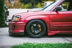 Накладка на порог. Subaru Forester, SG