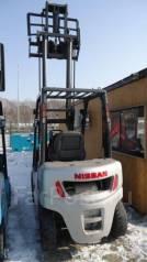 NISSAN PL02M20, 2007. Вилочный погрузчик Nissan PL02M20, 2 000кг., Бензиновый