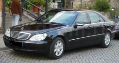 Mercedes-Benz W220 S500, S430 и S320 на запчасти. Mercedes-Benz S-Class, W220