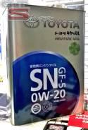 Toyota. Вязкость 0W20, гидрокрекинговое