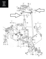 Сайлентблок стабилизатора. Audi: A4 Avant, A5, Q5, A4, A4 allroad quattro, S5, Allroad Двигатели: AAH, CAEA, CAEB, CAHA, CAHB, CAKA, CALA, CCBA, CCWA...